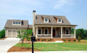 dom w kształcie l