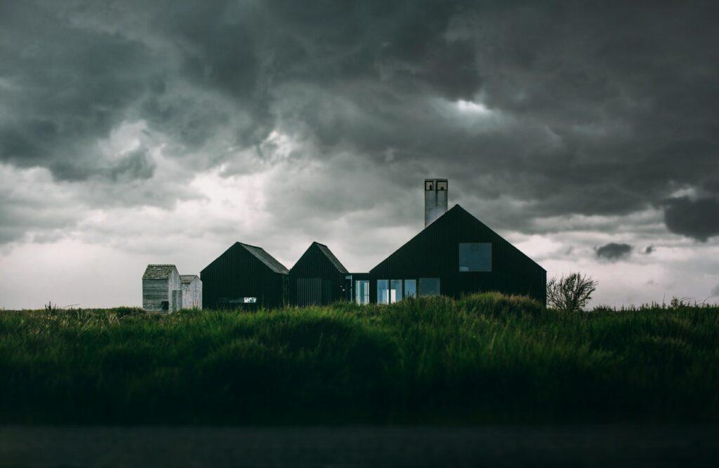 dom nowoczesna stodoła