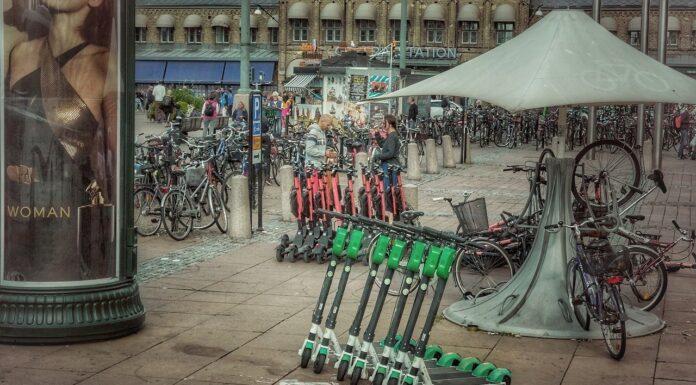 rower i hulajnoga elektryczna